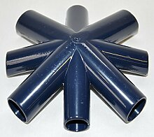 Pavillon Everyday Ersatzteile Blau Grün 3x3m Stangen Dach Seitenteile Metro Real, Motiv/Art:Blau Teil B Dachverbinder