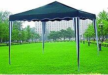 Pavillon faltbar A Akkordeon grün 38511zusammenklappbar Garten Sommer