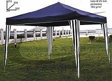 Pavillon faltbar blau 3x 3