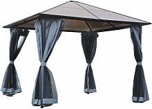 ® Pavillon Gartenpavillon mit Seitenteilen PC