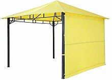 Pavillon gelb TEPRO LEHUA 330x330x285 cm Garten Camping Terrasse 5511