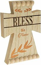 Pavillon Gift Company Bless This Home Rustikales