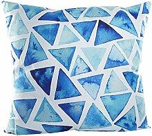 Pavillon Innen Alkestis Kissen Polyester blau/weiß 40x 40cm