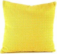 Pavillon Innen Erine Kissen Polyester Gelb 45x 45cm