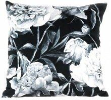 Pavillon Innen EVA Kissen Polyester schwarz/weiß 45x 45cm