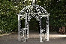 Pavillon Leila-antik_weiß