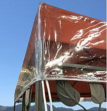 Pavillon Schutzhaube 3x3m Wasserdicht Transparent