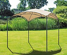 Pavillon Stahl Gartenzelt Partyzelt Garten Zelt Überdachung Sonnenschutz