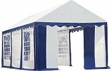 Pavillon weiß/blau, 305x610 cm - Shelterlogic