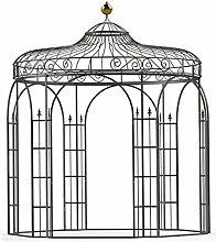 Pavillons, Garten Pavillon, Metall Pavillon, Pavillon Stahl, Rankpavillon Antwerpen Ø 260 cm (Verzinkt)