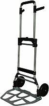 Pavo Faltbare Sackkarre / Klappbare Transport-Handkarre kompakt und robust, 120 kg, 8001040