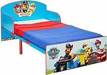 Paw Patrol Bett für Kleinkinder, Holz, blau, 143