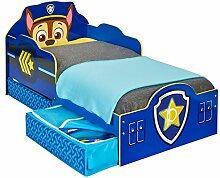 Paw Patrol Bett mit Aufbewahrungsschublade für
