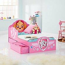 Paw Patrol Skye Kleinkind Bett mit Lagerung +