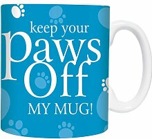Paws Off! - Türkis - Mugs - Becher - Chopes