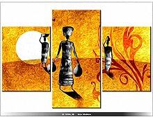 PAYSAGE AFRICAIN - TABLEAU IMPRIME MODERNE - DECO - NEW DESIGN - AFRIQUE