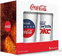 PB Licensing GD16134PB Coca Cola Red White and