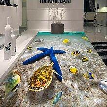Pbldb 3D Wandbild Tapete Boden Tapete Ocean World