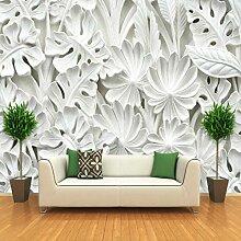 Pbldb Blattmuster Gips Relief Wandbilder 3D Tapete
