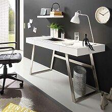 PC Tisch in Weiß 140 cm