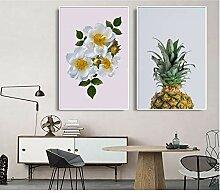 PDFKE 2 Stücke Moderne minimalistische Ananas