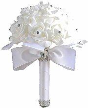 Pe Rose Brautjungfer Hochzeit Schaumblumen Rose