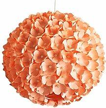 Peach Pearl Flower, Lampe Leuchte Lampenschirm