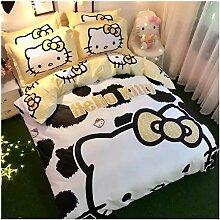 Peachy Baby Bettwäsche-Set Hello Kitty, 100%
