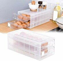 Peakpet Eierbox Kühlschrank Eier Aufbewahrungsbox