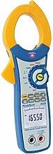 PeakTech 40000 Digits - True RMS Stromzange / Amperemeter bis 1500A AC/DC - Multimeter, 1 Stück, P 1655