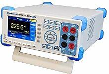 PeakTech P 4095 True RMS 60000 Counts Tischmultimeter – Grafisches Digital Multimeter mit Color TFT Anzeige, 100 Mio. Punkte Datenlogger, 150 S/und USB/ Lan/ Rs-232