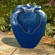 Peaktop Dekor Terrasse Garten Rot Wasser Pumpe