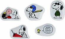 PEANUTS Snoopy Miniatur-Teller Set von 5yamaka