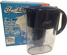 Pearl Co Wasserfilter dunkelblau 2,3 l. Gesamtfassungsvermögen