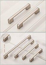 Pearl Nickel Griff Schrank klein Henkel modern einfache Schrank Tür Griff Europäische, Loch 160 mm