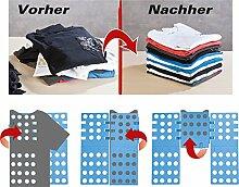 PEARL Wäschefalter: Wäsche-Faltbrett für Hemden