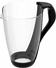 PearlCo Glas-Wasserfilter (schwarz) - Ersatzkanne