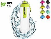 PearlCo Trinkflasche mit Wasserfilter 0,5 Liter