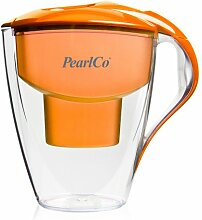 PearlCo Wasserfilter Astra (orange) inkl. 1 unimax