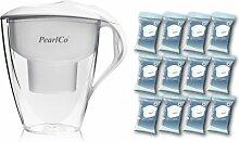 PearlCo Wasserfilter Astra (weiß) - Jahres-Paket