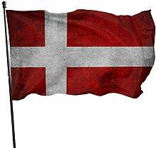 PecoStar Premium Gartenfahne Europa Dänemark