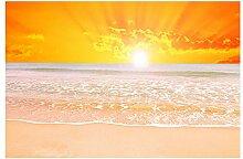 pectyxsw Sonnenuntergang am Meer DIY 5D Diamond