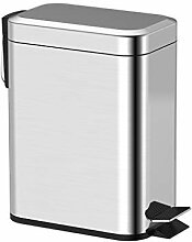 Pedal Edelstahl Mute Mülleimer Küche Sanitär