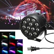 Pegasus 12W 12 LED RGB Stadiums Projektor Light Bar Club DJ Disco Par Lampe