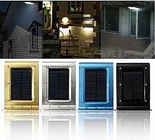 Pegasus 16 LED Solar Power Voice Sensor Wand Licht Garten Yard Lampe wasserdichtes