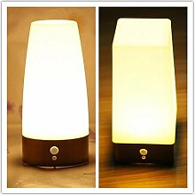 Pegasus Drahtlose LED Nachtlicht Tabellen Bett Lampen Bewegungs Sensor Batterie betrieben für die Innenbeleuchtung