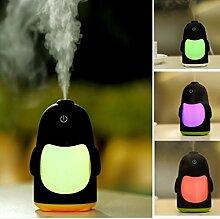 Pegasus Portable Mini USB Luftbefeuchter Luftreiniger Aroma Diffusor LED Licht Office Home