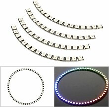 Pegasus Ring Wanduhr 60 LED WS2812 5050 RGB LED Lampe Panel für Arduino