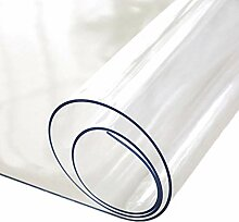 pegtopone Glasklar Folie PVC Tischabdeckung