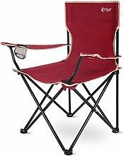 PeiQiH Camping Faltstuhl, Außen Portable Mit